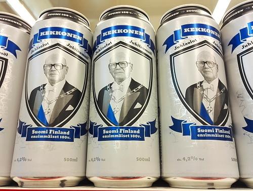 フィンランド ビール Kekkonen 大統領