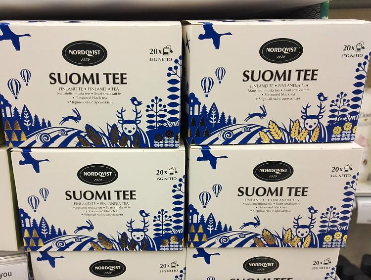 フィンランド フィンランドティー 紅茶 ブルーベリーフレーバー