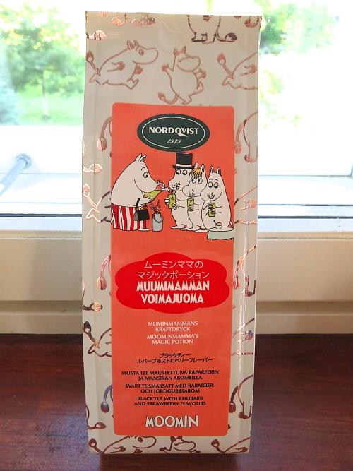 フィンランド ムーミンの紅茶 Muumitee 苺 ルバーブ