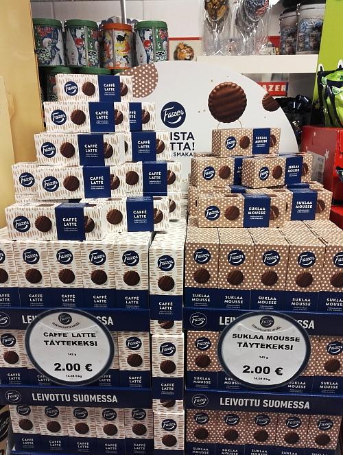 フィンランド Fazer 新クッキー