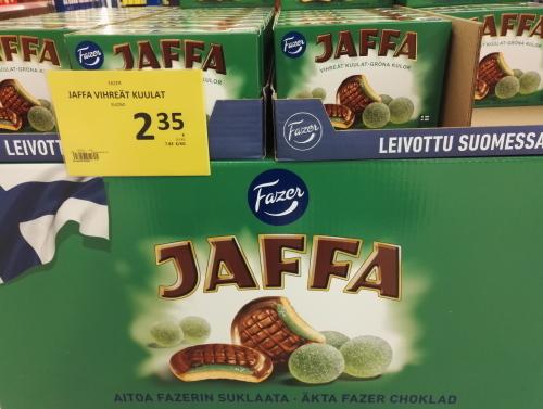 Fazer ソフトクッキー JAFFA Vihreät Kuulit