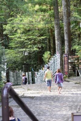 熊野本宮大社風鈴階段DSC_1067