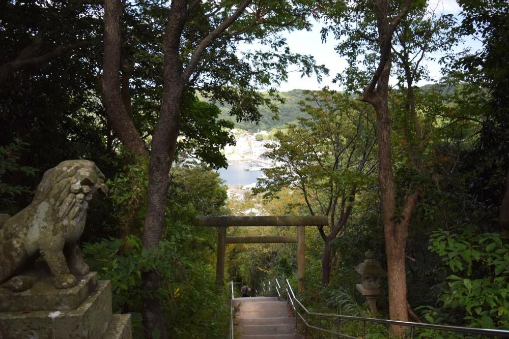 神社から見下ろしてDSC_0399