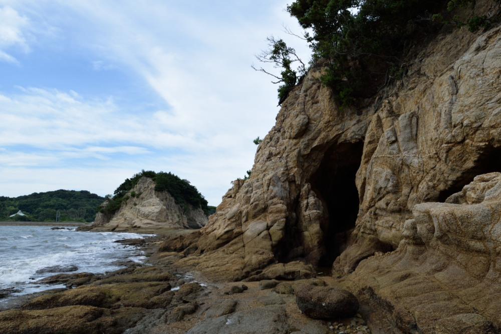 潮が引いて島DSC_0471