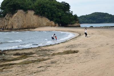 潮が引いて子供DSC_0501