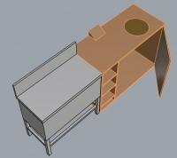 ポリhot収納テーブル10