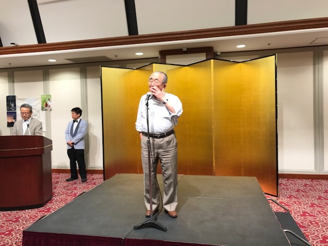日本ワイン総会 山本会長