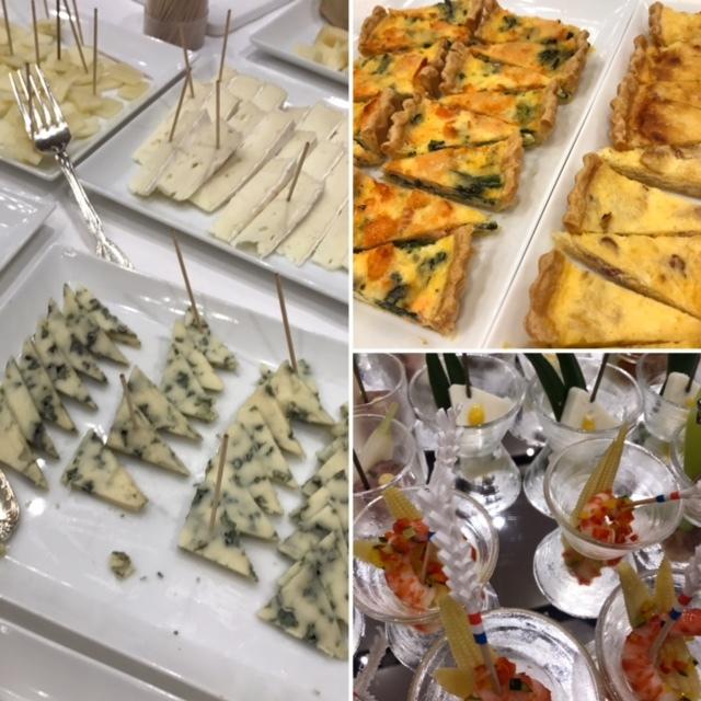 日本ワイン総会 チーズ&料理