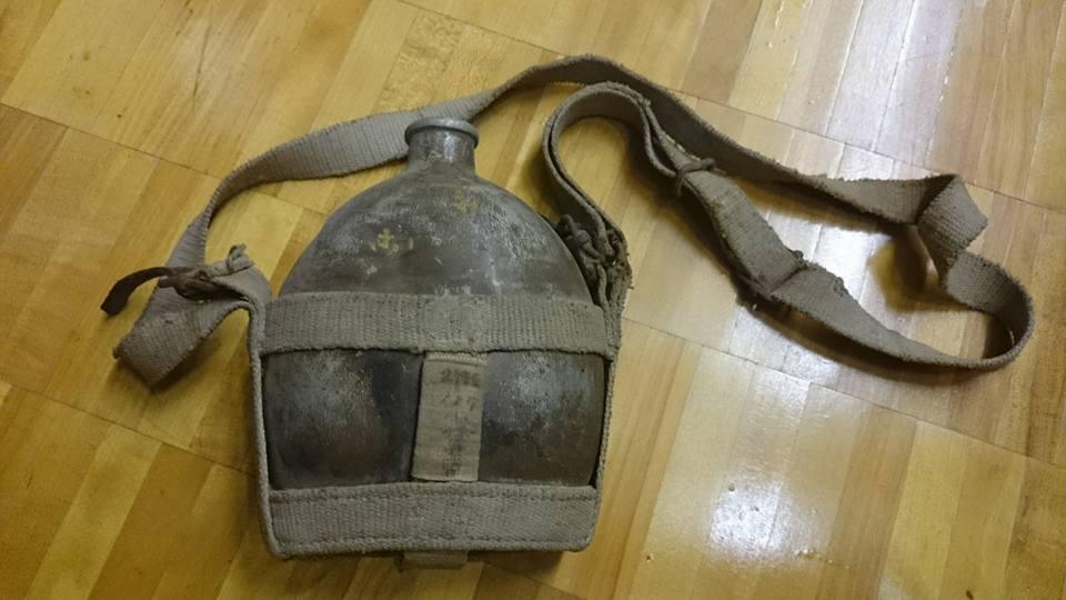 戦時中の水筒