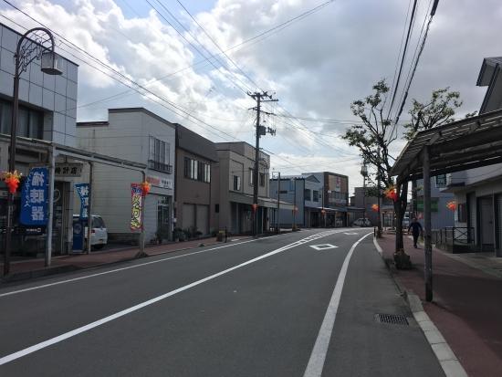 八中吹奏楽~商店街花飾り 041