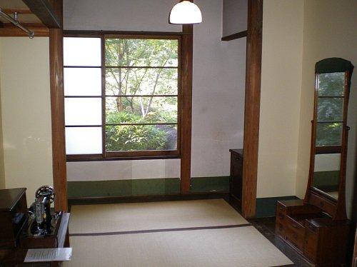 旧小坂家住宅・更衣室