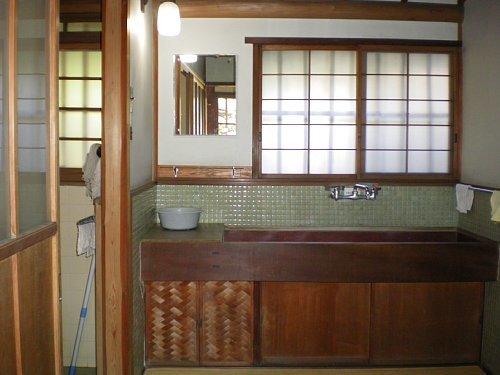 旧小坂家住宅・洗面脱衣室