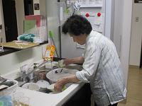 食器洗い①