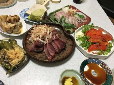 2017.6.24晩ごはん1
