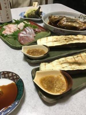 2017.6.25晩ごはん1