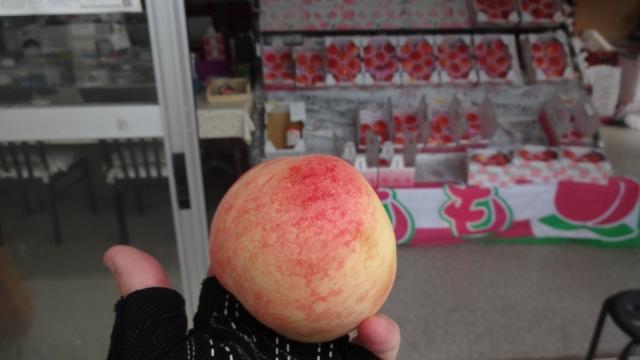 撥ねモノ完熟桃