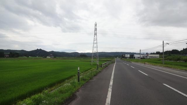 県道37号衣川地区方面へ