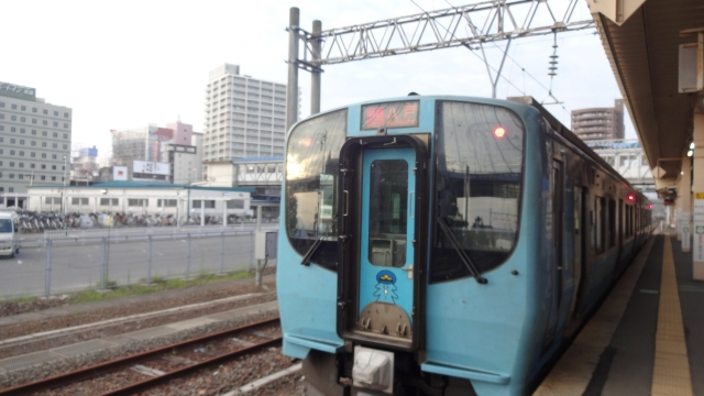 青森発の始発列車