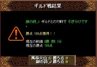 7月23日結果&集まり(剣士3WIZ2天使3シフ1武道1悪魔1)