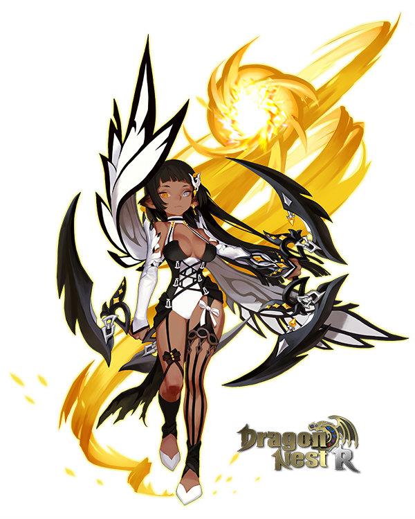 基本プレイ無料の本格アクションRPG『ドラゴンネストR』 カーリーの新外伝キャラクター「オラクルフレイア」を実装したぞ~!! 新作オンラインゲームランキングDX
