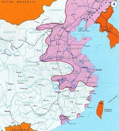 20170729 日本軍によって侵略されたとされる地域