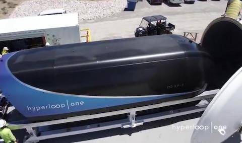 ハイパーループ インフラ リニア 電車 真空 アメリカ ネバダ パイプ