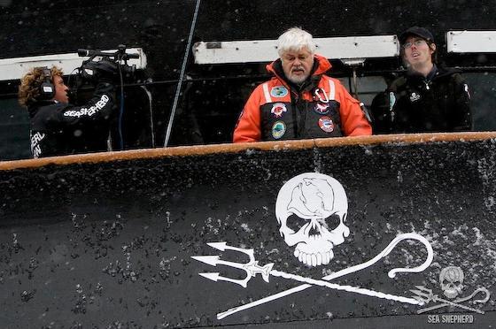 シー・シェパード ポール・ワトソン テロ等準備罪 捕鯨 テロリスト 妨害
