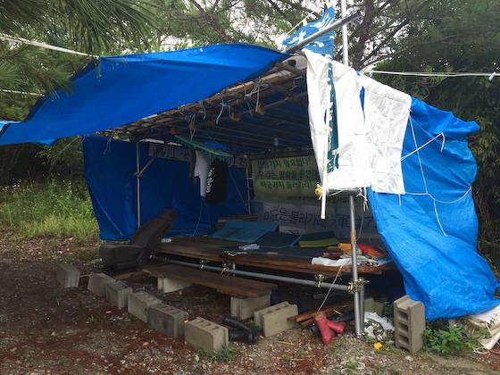 沖縄 辺野古テント パヨク 違法テント 北朝鮮 韓国 中国 基地