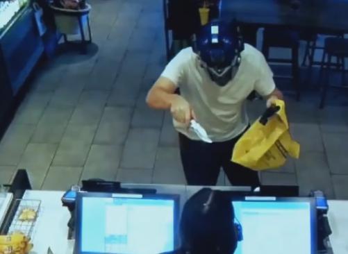 強盗 スターバックス 覆面 コンボイ トランスフォーマー カリフォルニア
