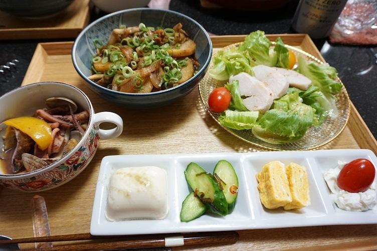 山芋炒め炊