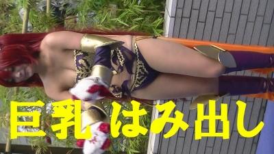 「巨乳 はみ出し コスプレイヤー」 乳 でかすぎっす 【世界コスプレサミット】5 (2)-2