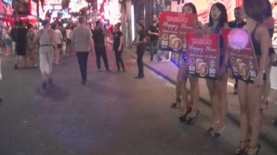 「Pattaya ひとり旅」gogo bar 警告 ! 【 ウォーキング ストリート 】3 (1)
