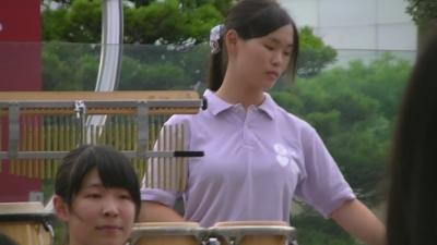 YouTube年齢制限こちらで削除した【浜松北高等学校】 巨乳 女子高生 「吹奏楽 演歌メドレー」 不謹慎ですが 大きそうです  (6)