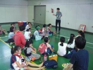 移動児童館(米野小)02