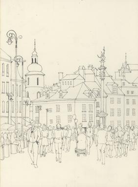 ポーランド旧市街広場ペン