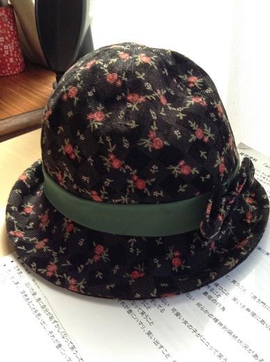 帽子をリメーク