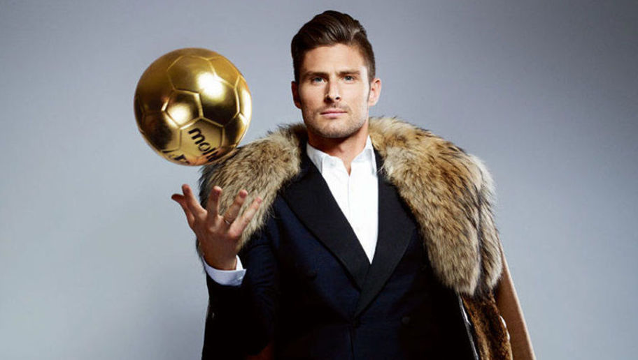 Why Olivier Giroud wants to spend it like Beckham