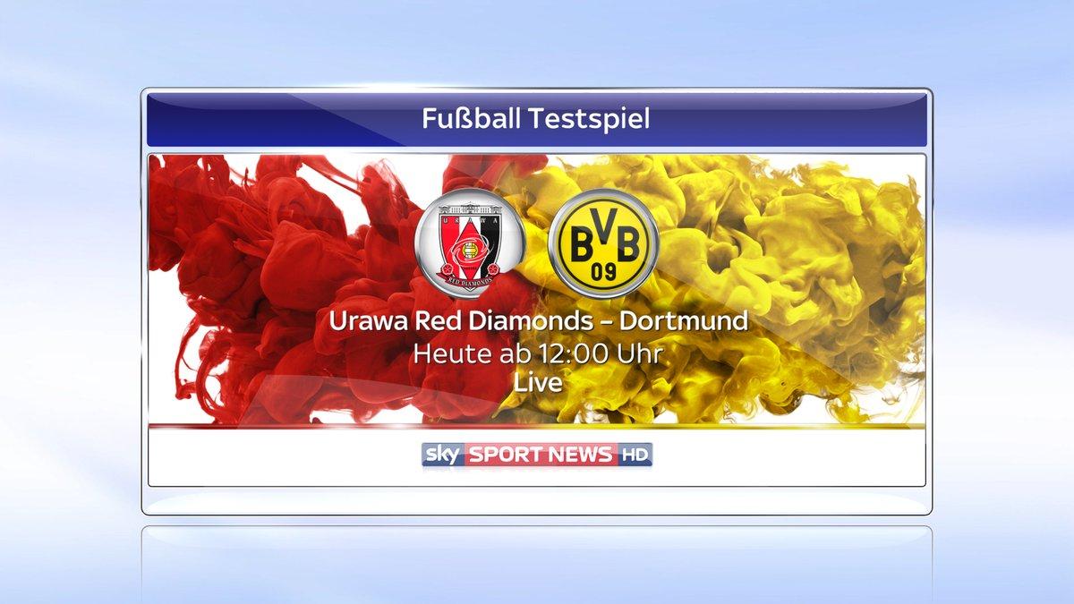 Urawa Red Diamonds gegen Borussia Dortmund Heute live im Free-TV auf Sky Sport News