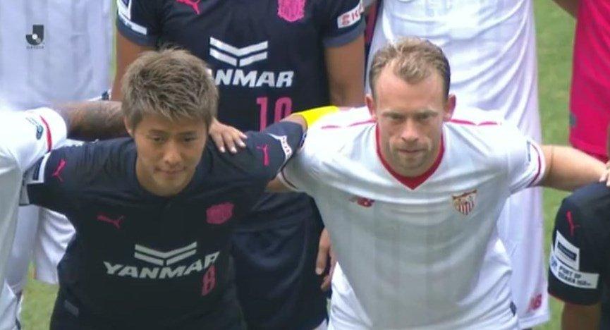 Con un gol de Ben Yedder, el Sevilla del Toto Berizzo vence 1-0 a Cerezo Osaka en Japón