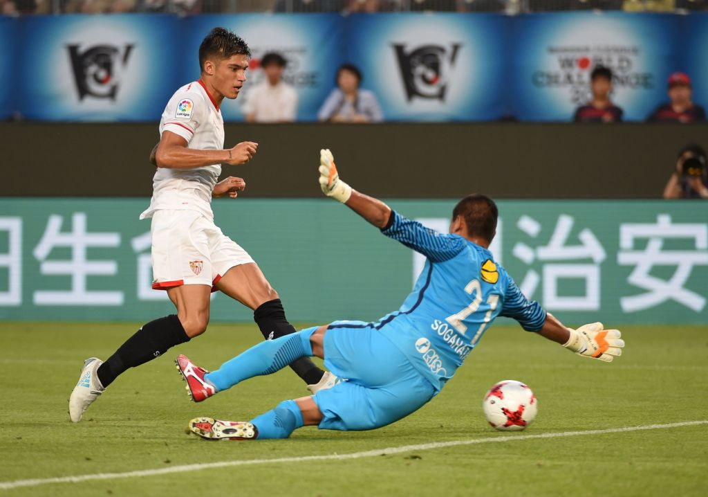 Sevilla lost 2-0 to Kashima Antlers during their preseason friendly match in Japan