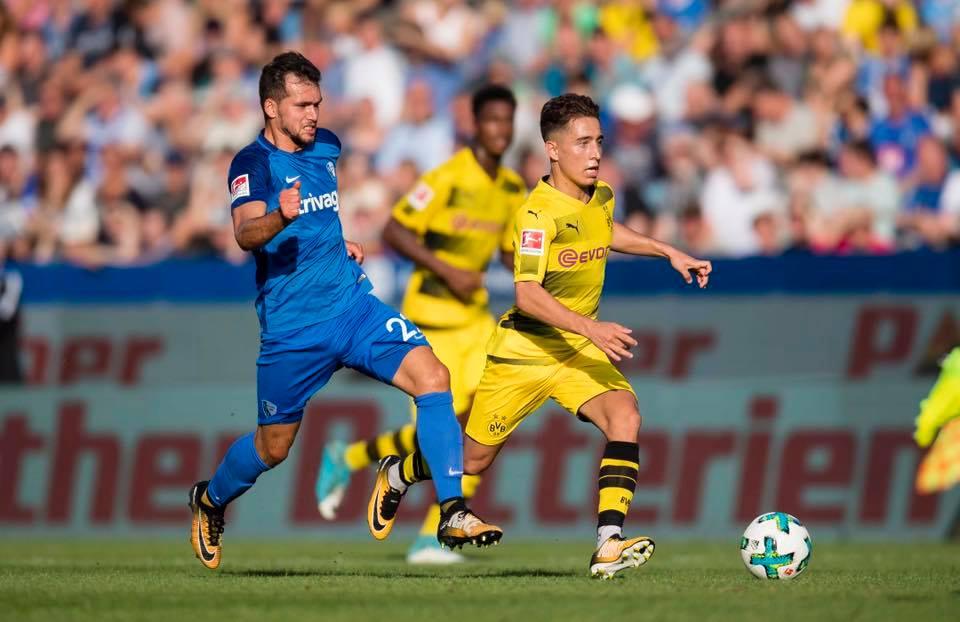 Dortmund hat im Schlussspurt ein 2_2 (01) beim Bochum 2017 preseason