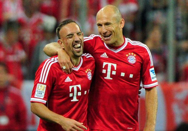 Heynckes reveals Robben-Ribery row