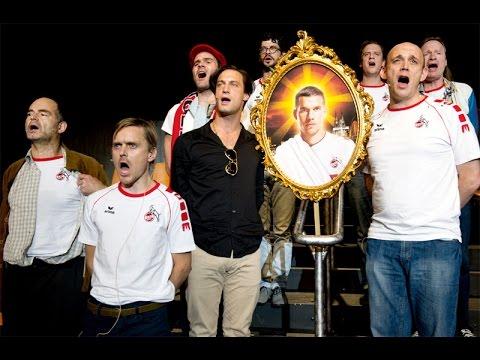 Schauspiel Köln feiert im Fußball podolski
