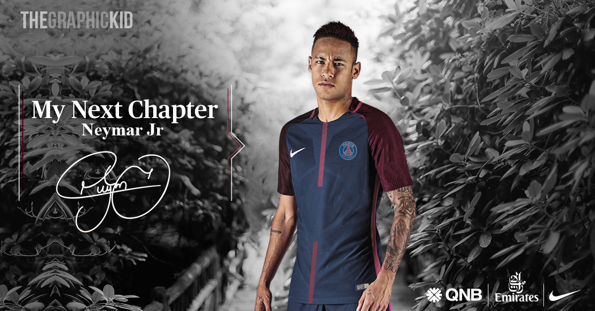 Official PSG signs Neymar