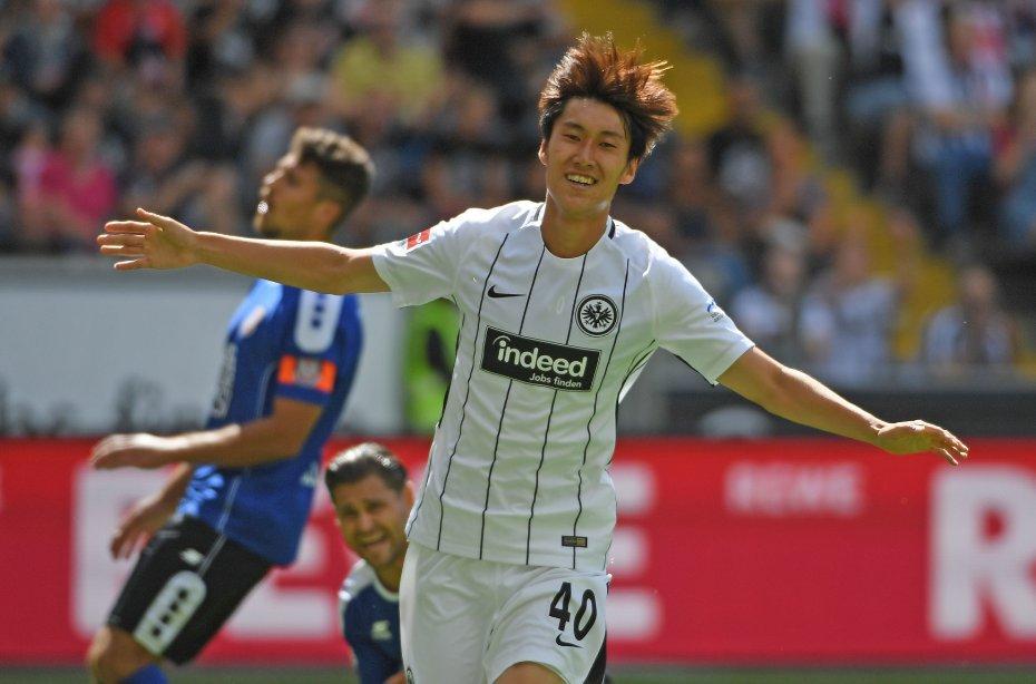 KAMADA SHOW Match report of #Eintracht 5-2 @fsv_frankfurt