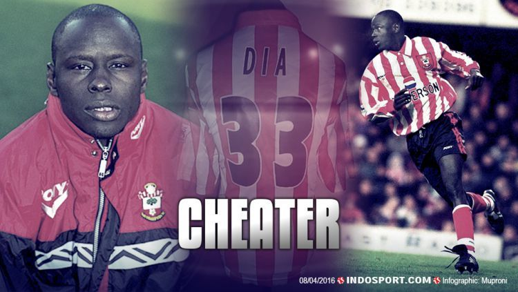 Ali Dia made his fabled appearance for Southampton against Leeds