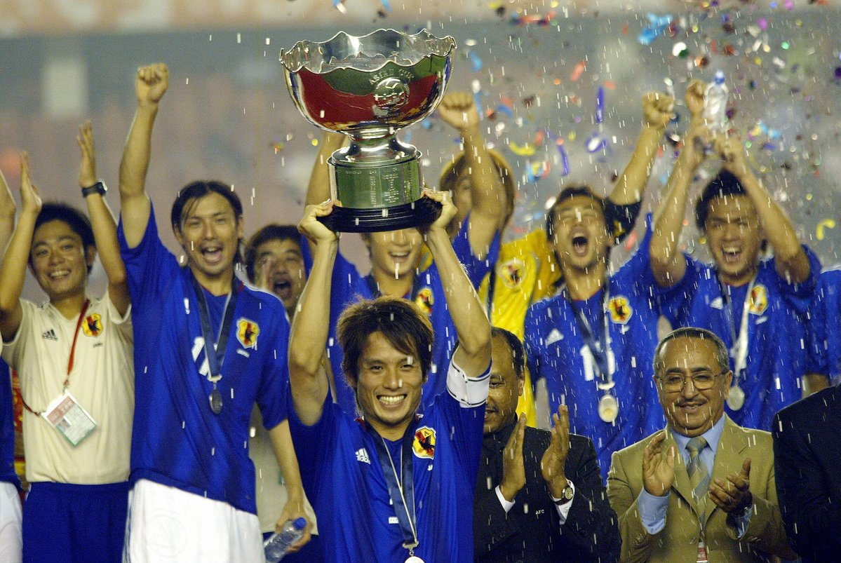 Japan third asian cup title in 2004 by defeating hosts China 3-1