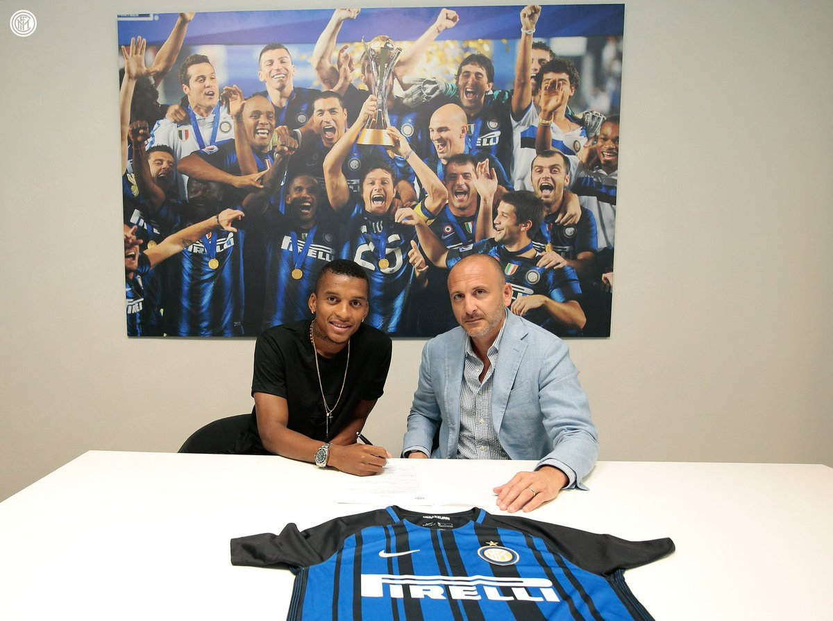 Dalberts first few hours as a #Nerazzurri player