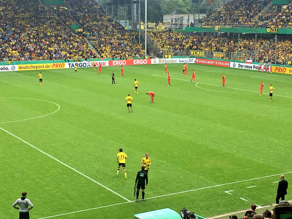 Post Game Borussia Dortmund 4-0 Rielasingen-Arlen kagawa is back