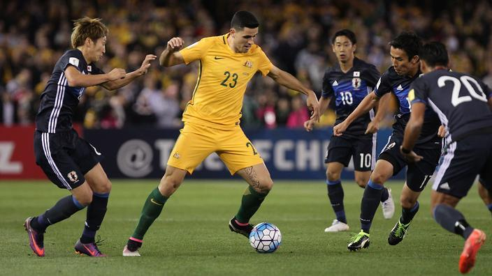 Australia have a golden opportunity to inflict a savage psychological blow on Japanese football